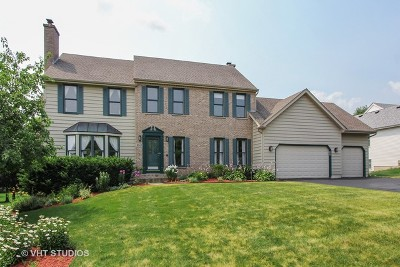 Algonquin Single Family Home For Sale: 3541 Lakeview Drive