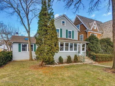 Kenilworth Single Family Home For Sale: 547 Melrose Avenue