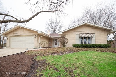 Schaumburg Single Family Home New: 1424 Chartwell Road