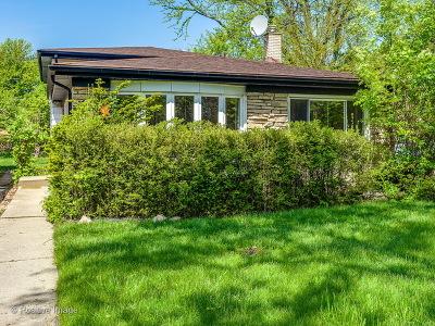 Wilmette Single Family Home For Sale: 635 Leclaire Avenue