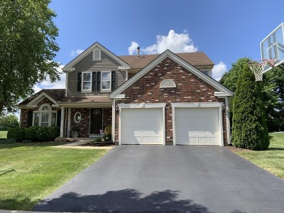 Hoffman Estates Single Family Home For Sale: 4380 North Cottonwood Trail