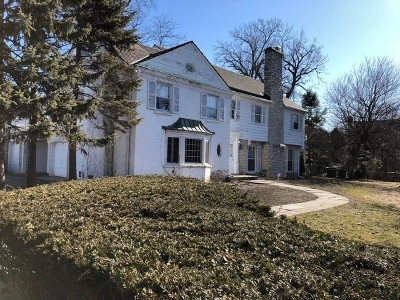 Kenilworth Single Family Home For Sale: 421 Sheridan Road