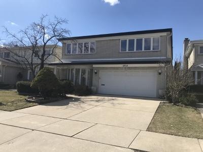 Skokie Single Family Home For Sale: 6910 Lockwood Avenue