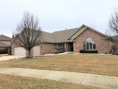 Frankfort Single Family Home For Sale: 8240 Pine Ridge Drive