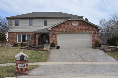 Roselle Single Family Home For Sale: 635 Catino Court
