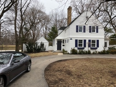 Winnetka Single Family Home Price Change: 259 Church Road