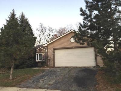 Streamwood Single Family Home For Sale: 15 Autumn Lane