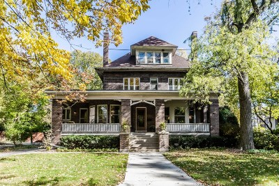River Forest Single Family Home For Sale: 601 Franklin Avenue