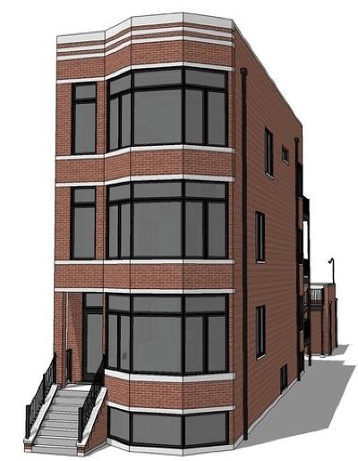 Condo/Townhouse For Sale: 3124 North Central Park Avenue #1