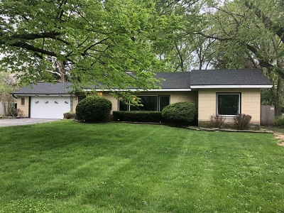 Palos Heights, Palos Hills Single Family Home Price Change: 12512 South 73rd Avenue