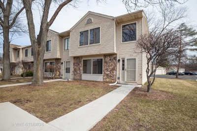 Elk Grove Village Condo/Townhouse Re-Activated: 1515 Gibson Drive