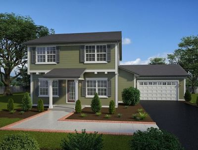 Channahon Single Family Home For Sale: 25216 West Town Center Circle