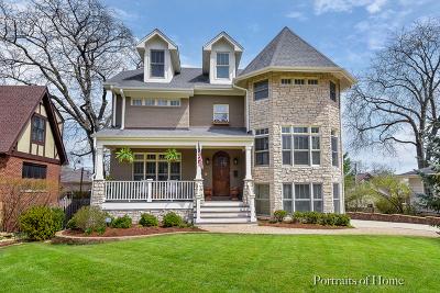 Glen Ellyn Single Family Home For Sale: 275 Merton Avenue