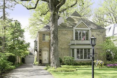 Winnetka Single Family Home For Sale: 1176 Chatfield Road