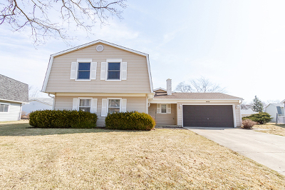 Hoffman Estates Single Family Home Contingent: 4573 Crab Orchard Drive