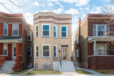 Multi Family Home Contingent: 3644 North Albany Avenue