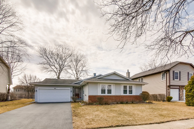 Hoffman Estates Single Family Home For Sale: 1615 Buckthorn Drive