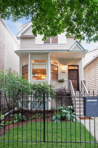 Single Family Home For Sale: 3034 North Leavitt Street