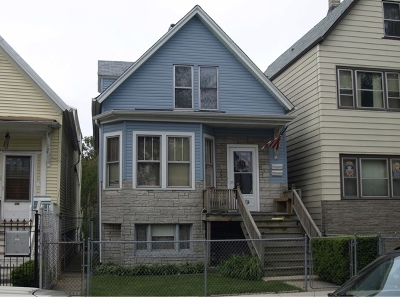 Single Family Home For Sale: 3419 West Cortland Street