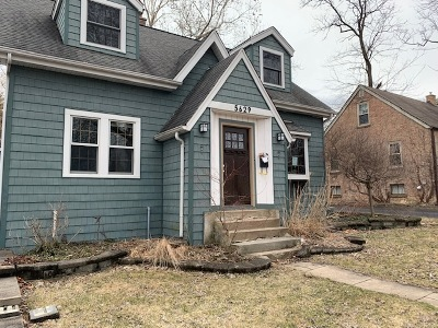 Downers Grove Single Family Home Contingent: 5629 Brookbank Road
