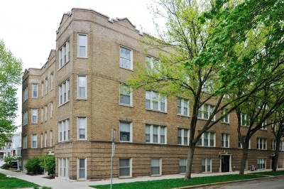 Condo/Townhouse For Sale: 2152 West Ainslie Street #2