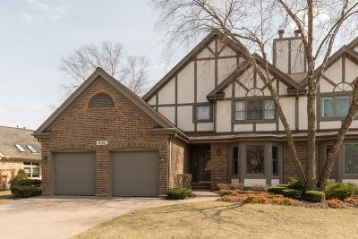 Orland Park Condo/Townhouse For Sale: 10541 Golf Road