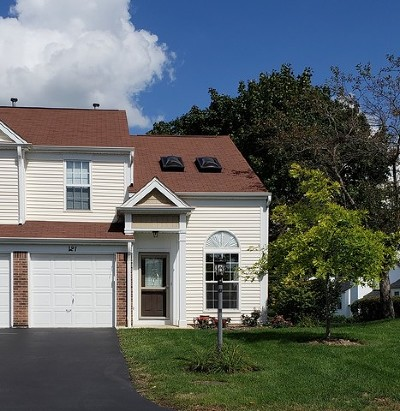 Streamwood Condo/Townhouse For Sale: 121 North Oltendorf Road