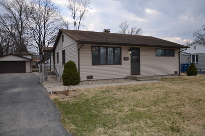 Worth Single Family Home Contingent: 6541 West 112th Place