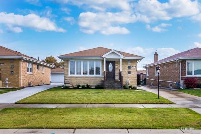 Norridge Single Family Home For Sale: 4433 North Orange Avenue