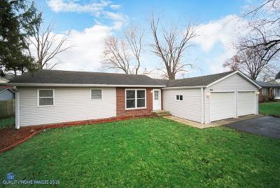 New Lenox Single Family Home For Sale: 308 Hillside Road