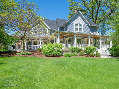 Glen Ellyn Single Family Home For Sale: 620 North Main Street