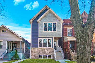 Single Family Home For Sale: 4137 North Lawndale Avenue