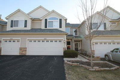Gilberts Condo/Townhouse For Sale: 536 Gunnison Court