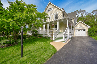 Glen Ellyn Single Family Home New: 215 Crest Road