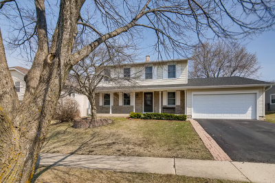 Hoffman Estates Single Family Home For Sale: 1890 Dogwood Drive