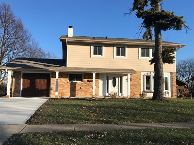Hoffman Estates Single Family Home For Sale: 1735 Ida Road