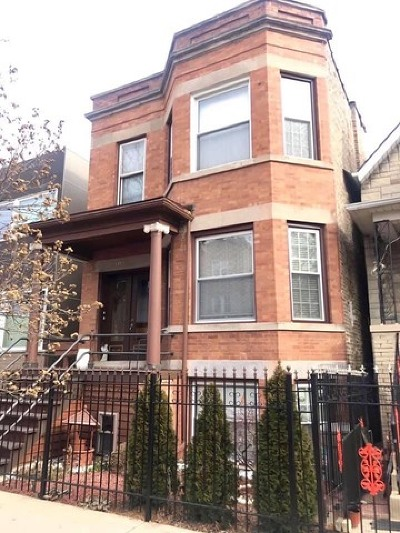 Multi Family Home For Sale: 1857 North Albany Avenue