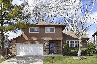 Carol Stream Single Family Home For Sale: 876 Wabash Street