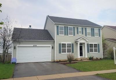 Wauconda Single Family Home Price Change: 2774 Moraine Valley Road