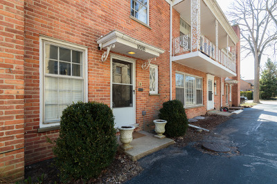 Wilmette Condo/Townhouse For Sale: 1006 Central Avenue