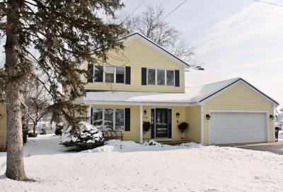 McHenry Single Family Home For Sale: 708 South Riverside Drive