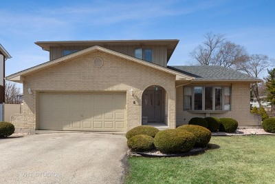 Palos Heights, Palos Hills Single Family Home For Sale: 10680 Granada Court