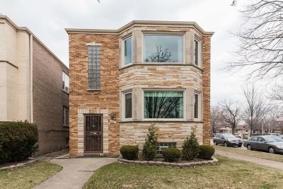 Chicago Multi Family Home For Sale: 5400 West Berteau Avenue