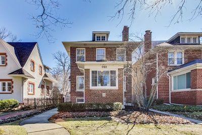 Wilmette Single Family Home For Sale: 931 Oakwood Avenue