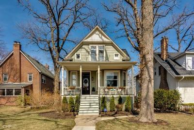 Wilmette Single Family Home For Sale: 1330 Gregory Avenue