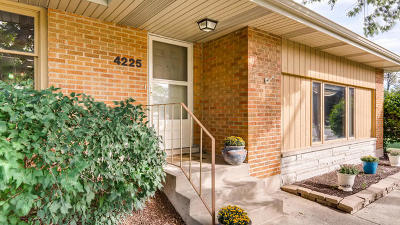 Downers Grove Single Family Home Contingent: 4225 Lacey Road