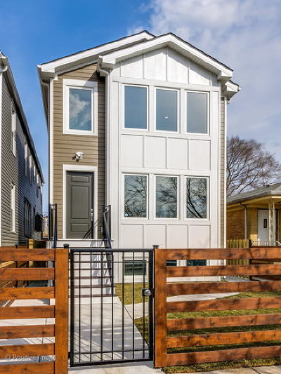 Single Family Home For Sale: 3537 North Kostner Avenue North