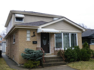 Niles Single Family Home Price Change: 8315 North Ottawa Avenue