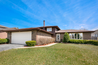 Orland Park Single Family Home Re-Activated: 14137 Catherine Drive