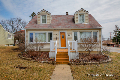 Westmont Single Family Home Re-Activated: 337 South Lincoln Street